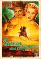 Man in the Saddle - Italian Movie Poster (xs thumbnail)