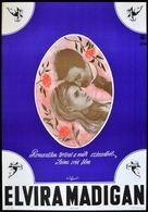 Elvira Madigan - Hungarian Movie Poster (xs thumbnail)
