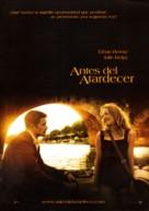 Before Sunset - Spanish Movie Poster (xs thumbnail)