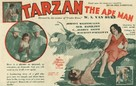 Tarzan the Ape Man - Movie Poster (xs thumbnail)