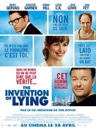 The Invention of Lying - French Movie Poster (xs thumbnail)