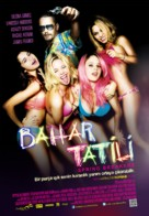 Spring Breakers - Turkish Movie Poster (xs thumbnail)