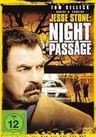 Jesse Stone: Night Passage - German DVD cover (xs thumbnail)