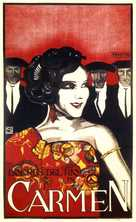 The Loves of Carmen - Dutch Movie Poster (xs thumbnail)