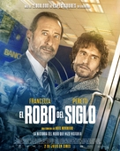 El robo del siglo - Spanish Movie Poster (xs thumbnail)