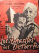 Amantes del desierto, Los - Spanish Movie Poster (xs thumbnail)