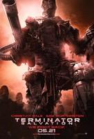Terminator Salvation - Brazilian Movie Poster (xs thumbnail)