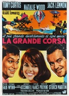 The Great Race - Italian Movie Poster (xs thumbnail)
