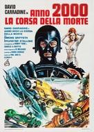 Death Race 2000 - Italian Movie Poster (xs thumbnail)