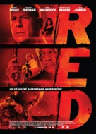RED - Czech Movie Poster (xs thumbnail)