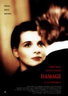 Damage - British Movie Poster (xs thumbnail)