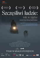 Happy People: A Year in the Taiga - Polish Movie Poster (xs thumbnail)