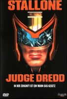 Judge Dredd - German Movie Cover (xs thumbnail)