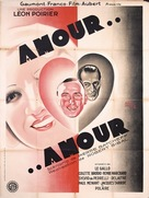 Amour... amour... - French Movie Poster (xs thumbnail)