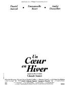 Un coeur en hiver - French Logo (xs thumbnail)