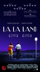 La La Land - Lebanese Movie Poster (xs thumbnail)