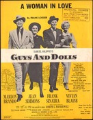 Guys and Dolls - British Movie Poster (xs thumbnail)