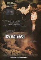 Intimacy - Hungarian Movie Cover (xs thumbnail)
