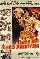 North to Alaska - German Movie Poster (xs thumbnail)