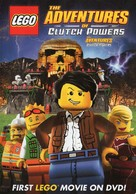 Lego: The Adventures of Clutch Powers - Canadian DVD cover (xs thumbnail)