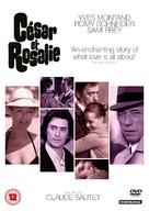 César et Rosalie - British DVD movie cover (xs thumbnail)