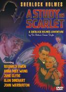 A Study in Scarlet - DVD cover (xs thumbnail)
