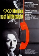 90 Minuten nach Mitternacht - German Movie Poster (xs thumbnail)