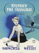 The Lady from Shanghai - Danish Movie Poster (xs thumbnail)