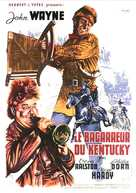 The Fighting Kentuckian - French Movie Poster (xs thumbnail)