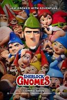 Sherlock Gnomes - British Movie Poster (xs thumbnail)
