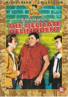 The Delicate Delinquent - Dutch DVD cover (xs thumbnail)