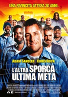 The Longest Yard - Italian Movie Poster (xs thumbnail)