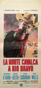 The Deadly Companions - Italian Movie Poster (xs thumbnail)