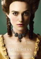 The Duchess - Norwegian Movie Poster (xs thumbnail)
