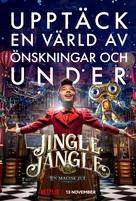 Jingle Jangle: A Christmas Journey - Swedish Movie Poster (xs thumbnail)