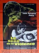 Les tueurs fous - French Movie Poster (xs thumbnail)