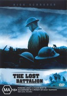 The Lost Battalion - Australian DVD cover (xs thumbnail)