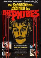 The Abominable Dr. Phibes - German Movie Poster (xs thumbnail)