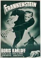 Frankenstein - Spanish Re-release movie poster (xs thumbnail)