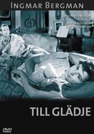 Till glädje - Swedish DVD cover (xs thumbnail)