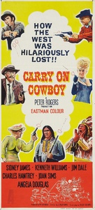 Carry on Cowboy - Movie Poster (xs thumbnail)