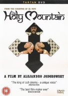 The Holy Mountain - British DVD cover (xs thumbnail)