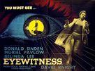 Eyewitness - British Movie Poster (xs thumbnail)