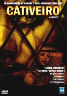 Captivity - Brazilian DVD cover (xs thumbnail)