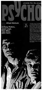 Psycho - Czech Movie Poster (xs thumbnail)