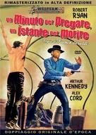 Un minuto per pregare, un instante per morire - Italian DVD movie cover (xs thumbnail)