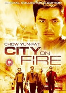 City On Fire - British Movie Cover (xs thumbnail)