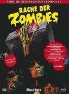 La revanche des mortes vivantes - German Blu-Ray cover (xs thumbnail)