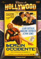 A Foreign Affair - Spanish DVD cover (xs thumbnail)