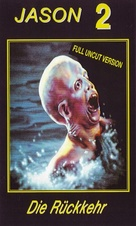 Friday the 13th Part 2 - German VHS cover (xs thumbnail)